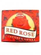 CONES RED ROSE