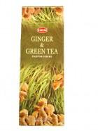 GINGER & GREEN TEA-(Gingembre & Thé vert)