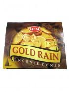 CONES GOLD RAIN (Pluie d'or)