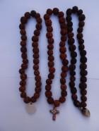 REF201D(2) – MALA tibétain de prières 33 Rudraksha avec pendant