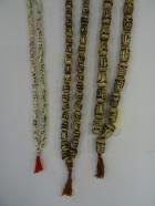 REF204D – COLLIER MALA OS TETE DE MORT (3 tailles de perles)
