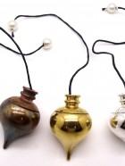 N° 1603 – PENDULE MERMET Témoin – 3 couleurs : Doré, Argenté, Bronze vieilli