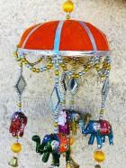 N° 55 – MOBILE COUPOLE avec Ganesh et éléphants