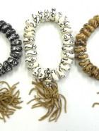 REF205C – BR MALA OS OM perles disques – Reste 1 couleur : noir