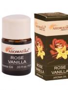 HUILE AROMA 10ml  – ROSE VANILLA (Rose-Vanille)