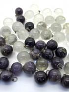 REF215 – PENDENTIF BOLA Cristal ou Améthyste