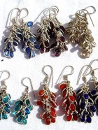REF351 – BO GRAPPE cristal colore – 1,00 € la paire