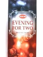 EVENING FOR TWO (Soirée à deux)