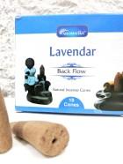 CONES BACK FLOW  LAVENDER pour PE Fontaine résine –  (couleurs végétales)