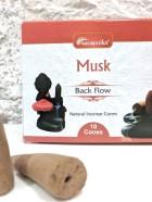 CONES BACK FLOW MUSK pour PE Fontaine résine  –  (couleurs végétales)