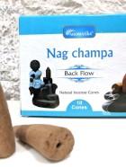 CONES BACK FLOW NAG CHAMPA pour PE Fontaine résine –  (couleurs végétales)