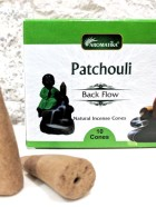CONES BACK FLOW PATCHOULI pour PE Fontaine résine –  (couleurs végétales)