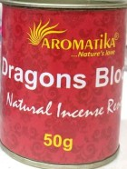 ENCENS RESINE NATURELLE DRAGONS BLOOD (Sang des dragons) – Lot de 6 boîtes de 50g