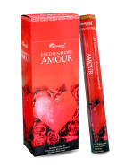 Encens Naturel AMOUR (Love) AROMATIKA HEXA