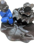 BFC-11  – P.E. résine Little BOUDDHA Doré (pas bleu) pour cônes back flow