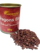 RESINE NATURELLE DRAGONS BLOOD (Sang des dragons) – Lot de 6 boîtes de 50g