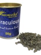RESINE NATURELLE MIRACULOUS (Miraculeuse) – Lot de 6 boîtes de 50g