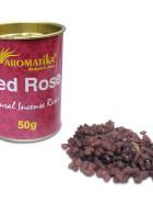 RESINE NATURELLE RED ROSE (Rose rouge)  – Lot de 6 boîtes de 50g