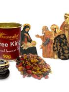 AROMATIKA ENCENS RESINE NATURELLE THREE KINGS (Les 3 Rois Mages)